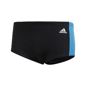 Sunga Adidas Cb3s Wide Preto/Azul Masculino