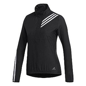 Jaqueta Adidas Run It Preto Feminino