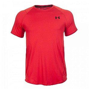 Camiseta Under Armour Mk1 Ss Vermelha Masculino