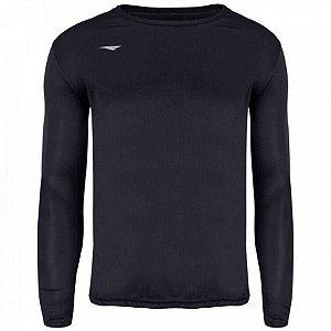 Camiseta Penalty Matis M/L Preto Juvenil