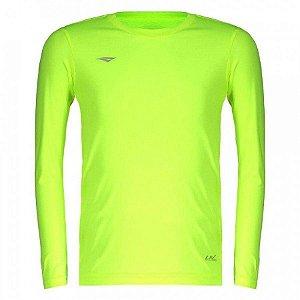 Camiseta Penalty Matis M/L Amarelo Juvenil