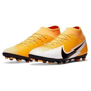 Chuteira Campo Nike Superfly 7 Club Amarelo