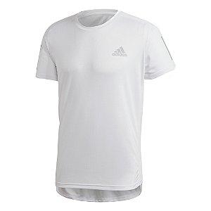 Camiseta Adidas Own The Run Branca Masculino