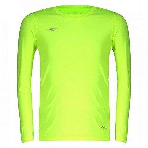 Camiseta Penalty Matis M/L Amarelo Infantil