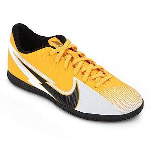 Chuteira Futsal Nike Mercurial Vapor 13 Club Amarela Masculino