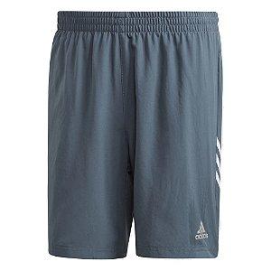 Shorts Adidas Run It 3s Azul Masculino