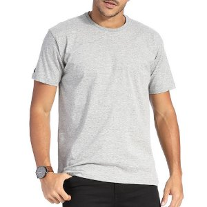 Camiseta Vlcs Basic Cinza Claro Masculino
