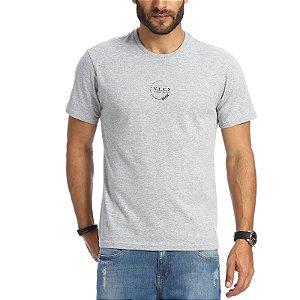 Camiseta Vlcs 20162 Cinza Claro Masculino