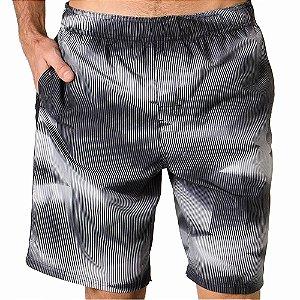Shorts Nike Volley 9 Listrado Preto