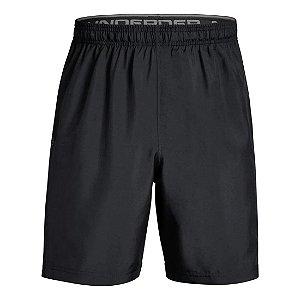 Shorts Under Armour Woven Graphic Preto Masculino