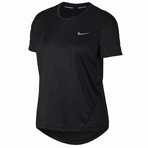 Camiseta Nike Miller Top Ss Preto Feminino