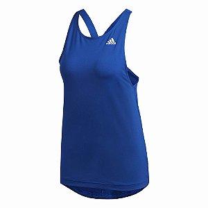 Regata Adidas D2m Aop Azul Feminino