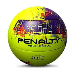Bola De Volei Penalty Vp Fun X Amarelo/Roxo