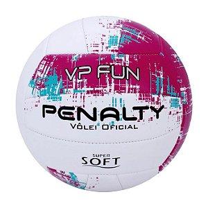 Bola De Volei Penalty Vp Fun X Branco/Roxo