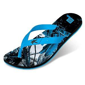 Sandália Kenner Summer Jungle Azul Masculino