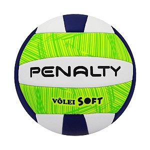 Bola De Volei Penalty Soft X Branco/Verde