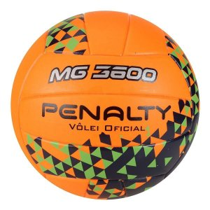 Bola De Volei Penalty Mg 3600 Fusion Viii Laranja/Verde