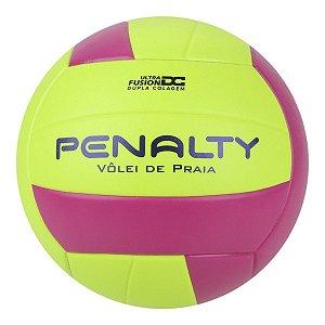 Bola De Volei De Praia Penalty X Amarelo/Roxa