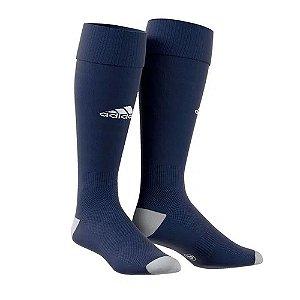 Meião Adidas Milano 16 Azul Marinho Masculino
