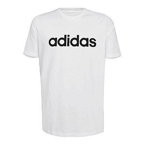 Camiseta Adidas Essentials Linear Branco Masculino