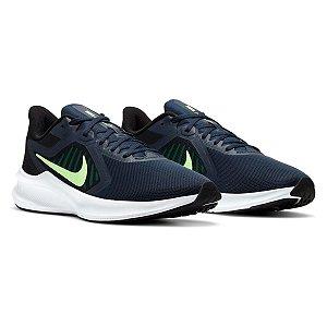 Tenis Nike Downshifter 10 Azul Marinho Masculino