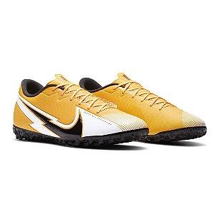Chuteira Suíço Nike Vapor 13 Academy Amarela