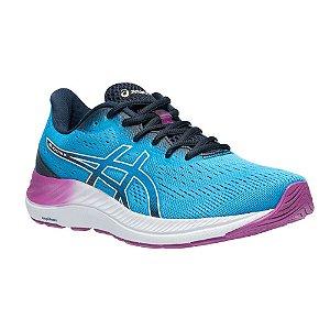 Tenis Asics Gel Excite 8 Azul/Roxo Feminino