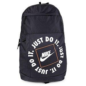 Mochila Nike Elemental Just Do It Preto