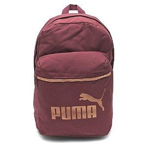 Mochila Puma Core Base College  Bordo
