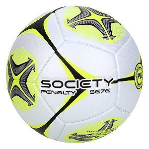 Bola Society Penalty Se7e Rx Ko X Branco/Amarelo
