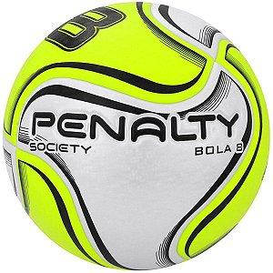 Bola Society Penalty Se7e 8 X Branco/Amarelo