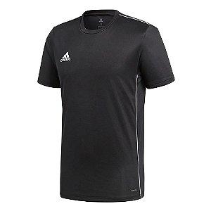 Camiseta Adidas Core 18 Preto Masculino