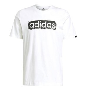 Camiseta Adidas Linear Branco Masculino