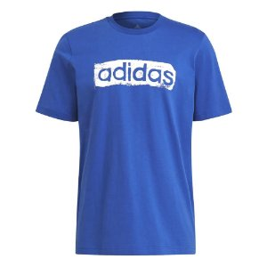 Camiseta Adidas Linear Azul Masculino