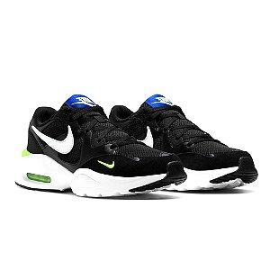 Tenis Nike Air Max Fusion Preto/Branco Masculino