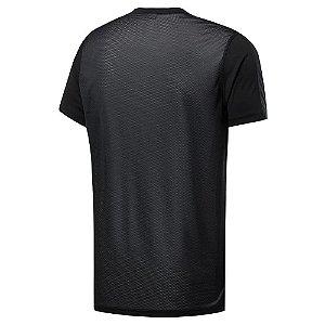 Camiseta Reebok Work Ss Tech Preto Masculino