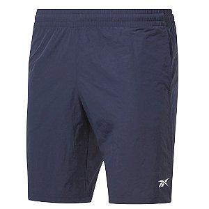 Shorts Reebok Utility 23cm Azul Marinho Masculino