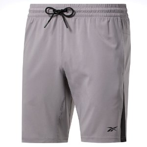 Shorts Reebok Wor Woven Gravity Cinza Masculino