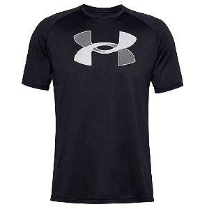 Camiseta Under Armour Tech Graphic Preto Masculino