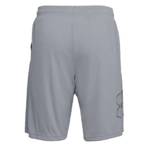 Shorts Under Armour Tech Graphic Cinza Masculino
