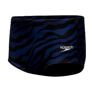 Sunga Speedo Tradicional Zebra Azul Marinho Masculino