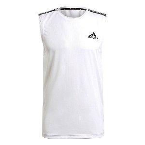 Regata Adidas D2m 3s Branco Masculino