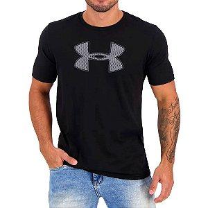 Camiseta Under Armour Big Logo Ss Preto