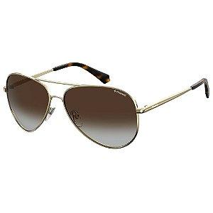 Óculos de Sol Polaroid  6012/N Dourado