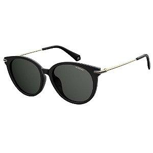 Óculos de Sol Polaroid 4084/F/S Preto/Dourado
