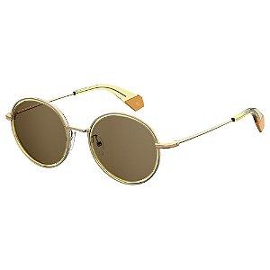 Óculos de Sol Polaroid 6079F/S Dourado
