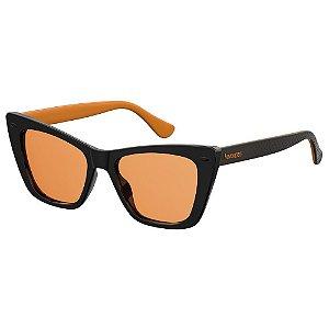 Óculos Havaianas Canoa Preto/Laranja