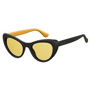 Óculos Havaianas Conchas Preto/Amarelo