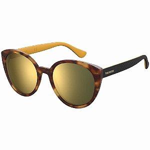 Óculos Havaianas Milagres Marrom/Amarelo