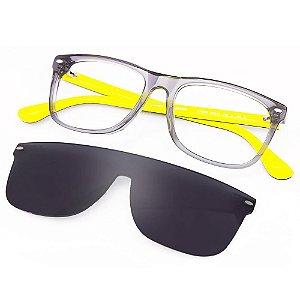 Óculos Havaianas Paraty/C/S  Preto/Amarelo CLIP ON